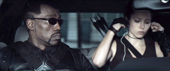 Blade Trinity - Wesley Snipes and Jessica Biel