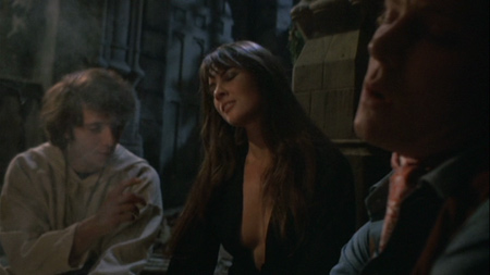 <em>Please invite Caroline Munro to every black mass from now on.</em>