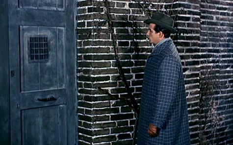 <em>He's wearing brick wall camouflage!</em>
