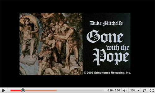 Gone with the Pope Trailer