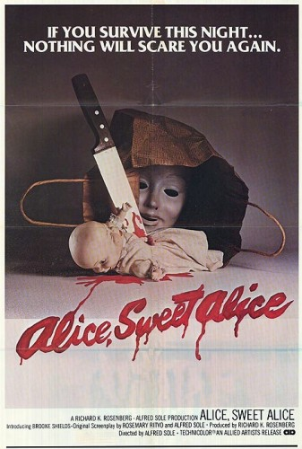 Poster for Alice, Sweet Alice