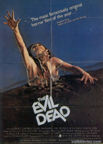 Poster for The Evil Dead (1981)