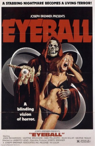 Poster for Eyeball (1975)