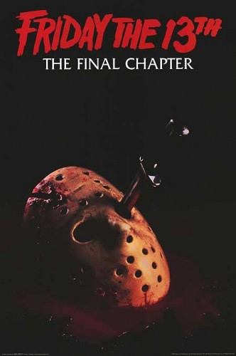 Poster for Friday the 13th: The Final Chapter (1984)