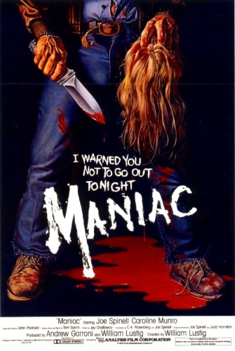 Poster for Maniac (1980)