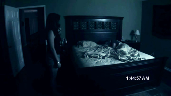 Paranormal Activity - Katie Stands By Bed