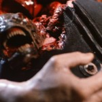 Piranha 2 - chestburster!