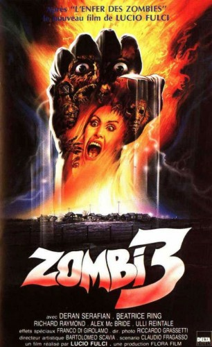 Poster for Zombi 3 (1988)
