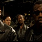 Blade II - Ron Perlman and Wesley Snipes