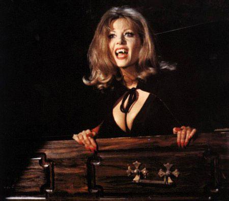 Ingrid Pitt - The Cloak