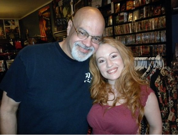 George Perez and Tara Cardinal