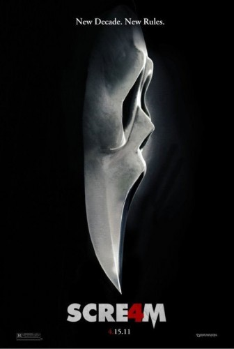 The New Scream 4 Poster
