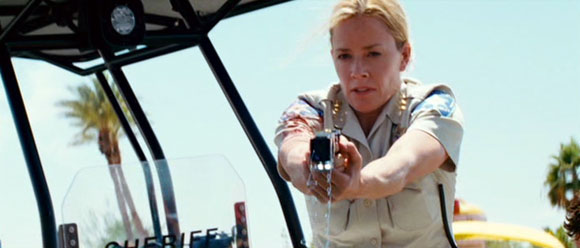 Elisabeth Shue in Piranha 3D