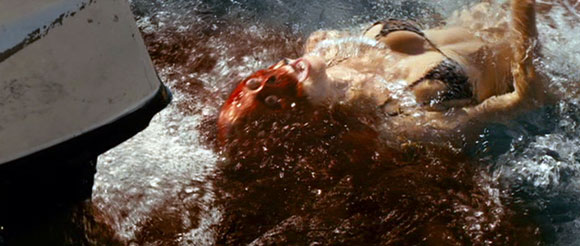 Piranha 3D - Motorboat Death