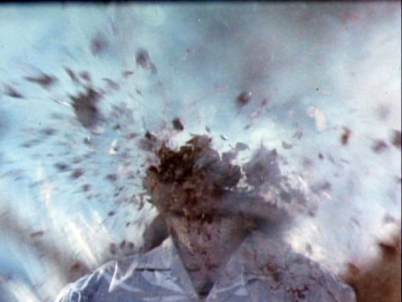 Chopping Mall Head Explosion