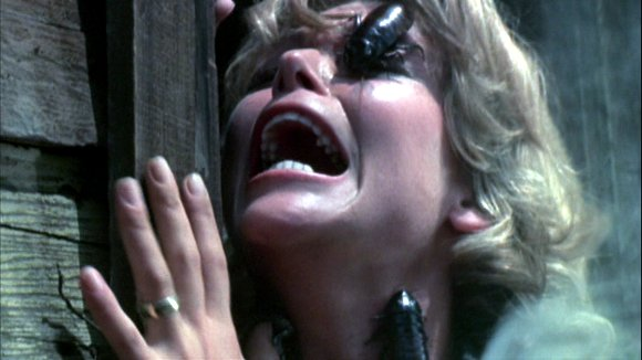 Patty McCormack Attacked in Bug (1975)