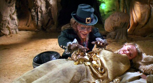 Leprechaun 2 - Warwick Davis and Shevonne Durkin