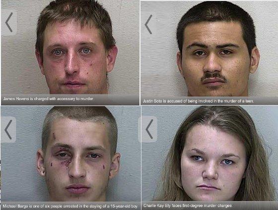 Jackson Murder Suspects