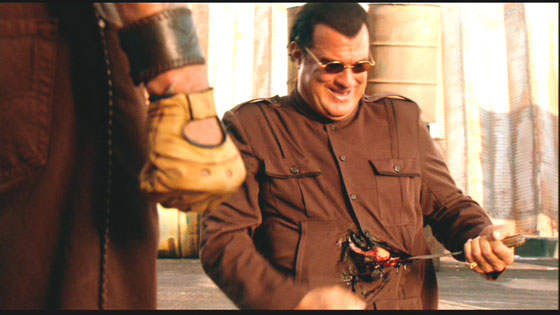 Steven Seagal in Machete
