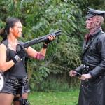 Simone Bailly meets a Nazi-zombie
