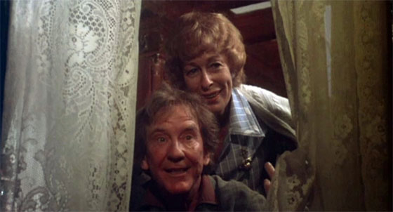 Burnt Offerings - Burgess Meredith and Eileen Heckart