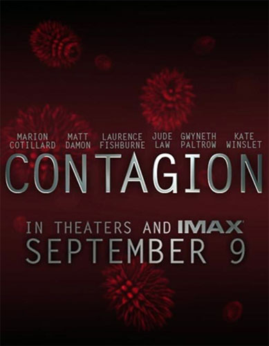 Contagion Poster - September 9, 2011