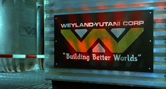 Weyland-Yutani Logo From Special Edition