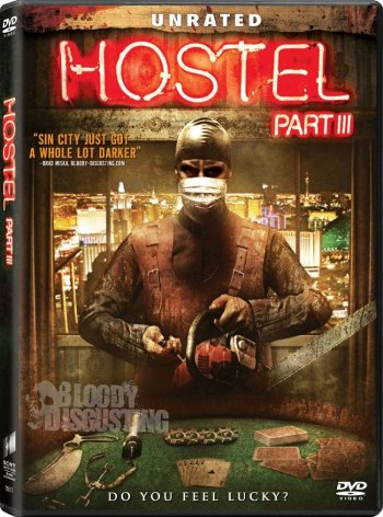 Hostel 3 DVD Cover Art