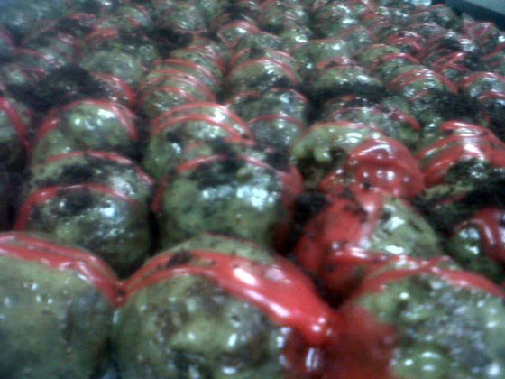 Zombie Ball Donuts