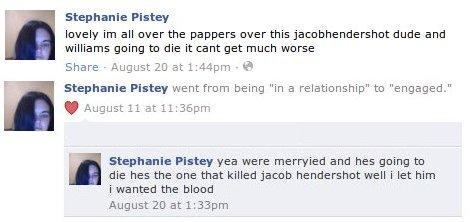 Stephanie Pistey - Facebook Wall