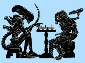 Alien vs Predator - Chess