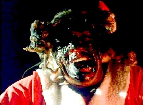 Don't Open Till Christmas - Burned Santa Face