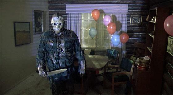 Friday the 13th Part 7 - Jason and Balloons