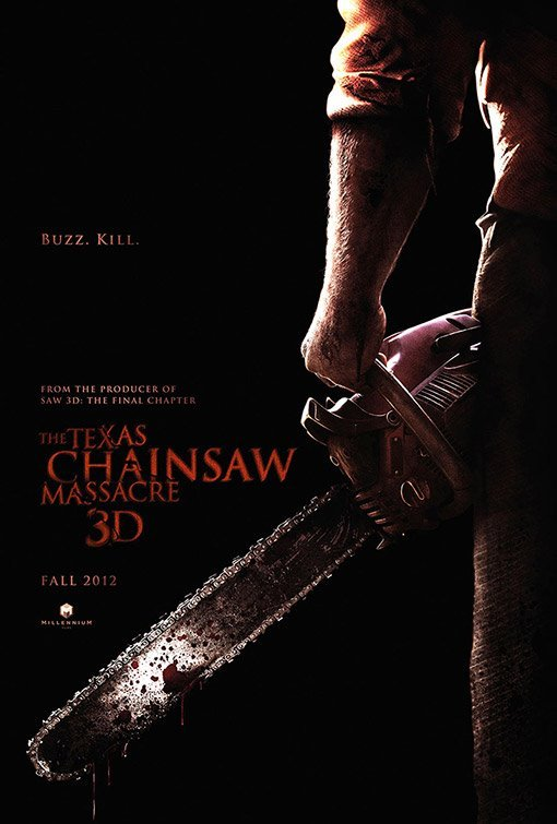 leatherface-3d-poster