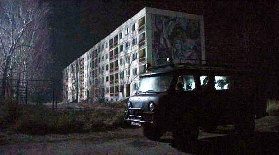 Scene from Chernobyl Diaries