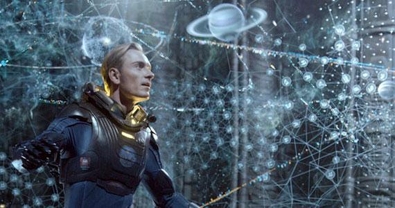 Prometheus - David Sees Holograms
