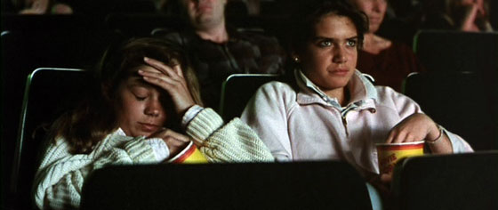 Anguish - audience watches The Mommy