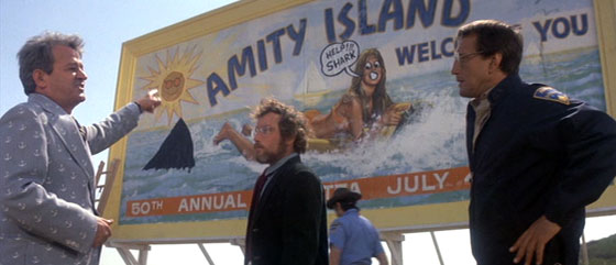Jaws - Amity Island Sign