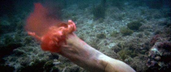 Jaws - Bitten Off Leg