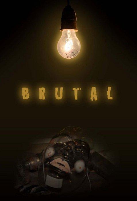 """Poster for """"Brutal"""" (2012)"""
