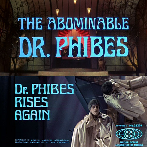 The Abominable Dr. Phibes / Dr. Phibes Rises Again