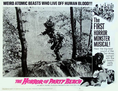 Horror of Party Beach Poster