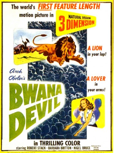 Bwana Devil 3D