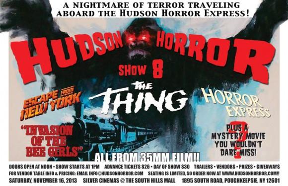 Hudson Horror Show 8 Poster