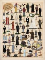 The Horror Die-Cut Collection - Cool Horror Poster!