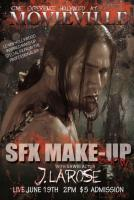 J Larose In SFX Make-Up Show At Movieville